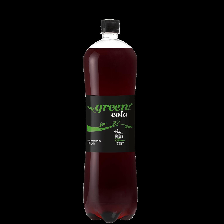 Green Cola - Bottle PET - 1,5lt
