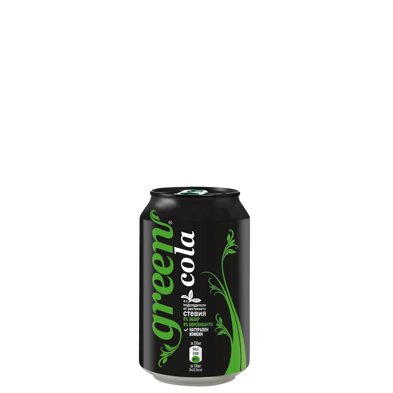 Green Cola - Can - 330ml