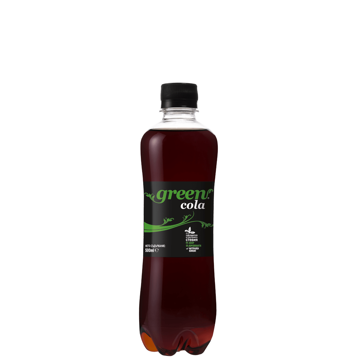 Green Cola - Bottle PET - 500ml