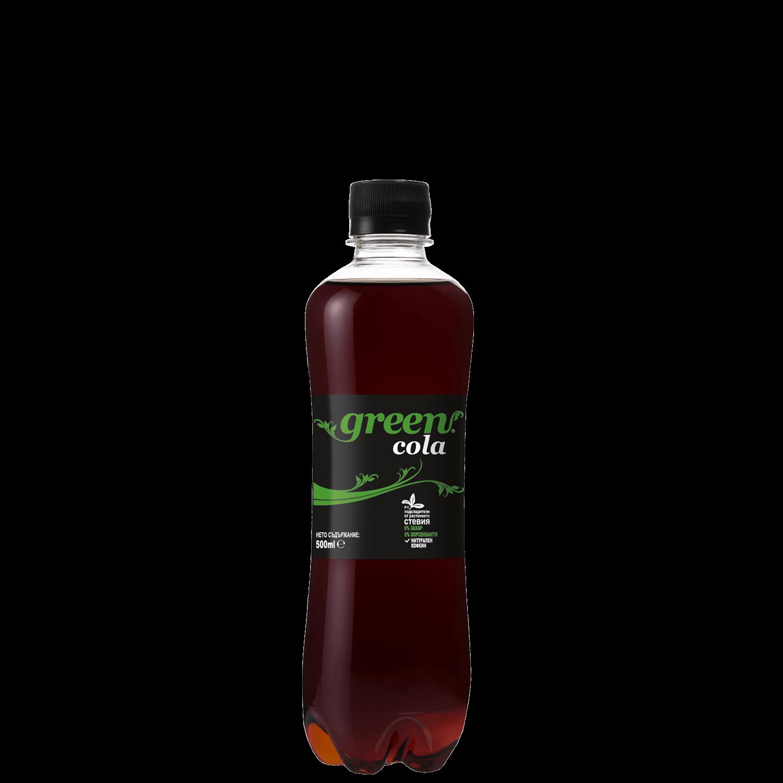 Green Cola - Bottle PET - 500ml