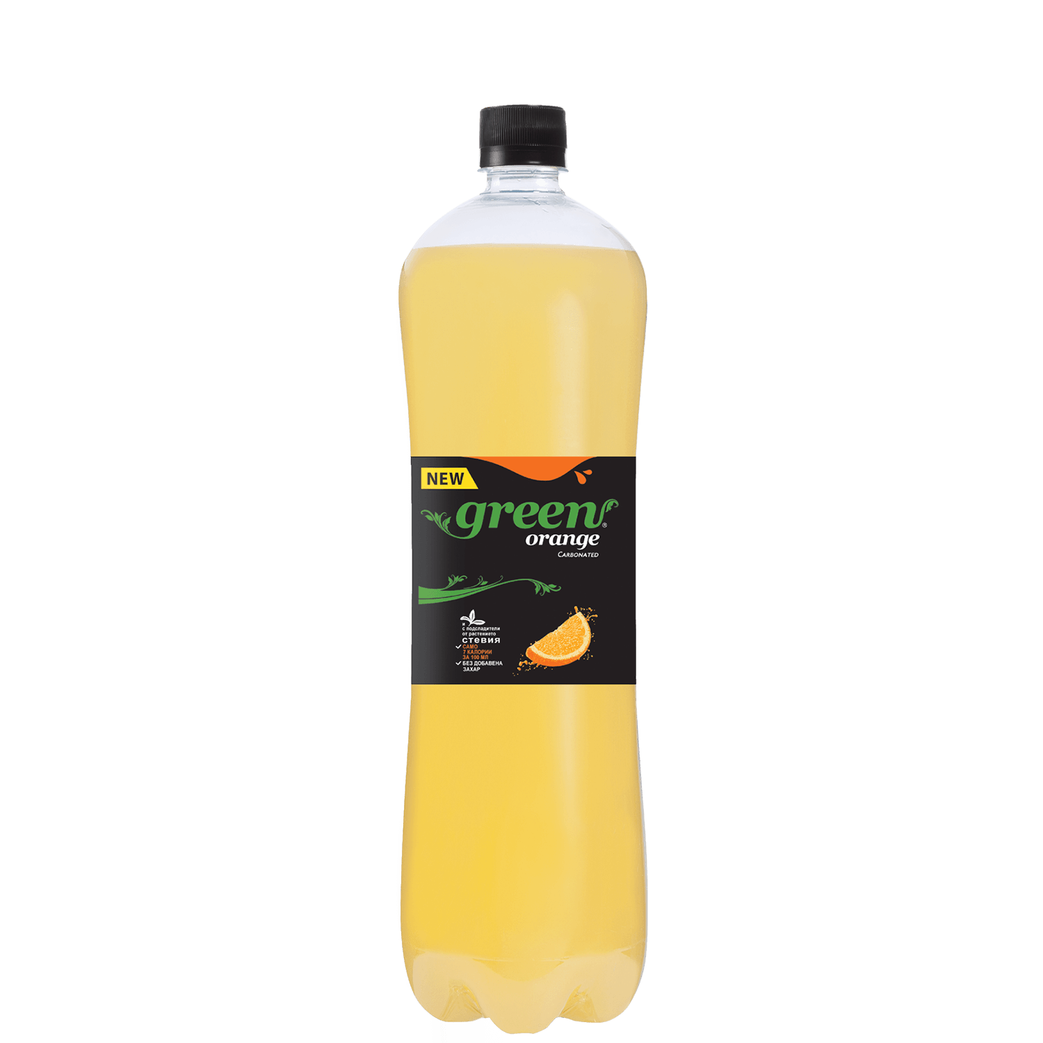 Green Orange - Bottle PET - 1,5Lt